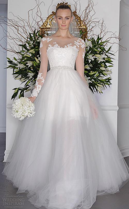 Váy cưới 2 mảnh